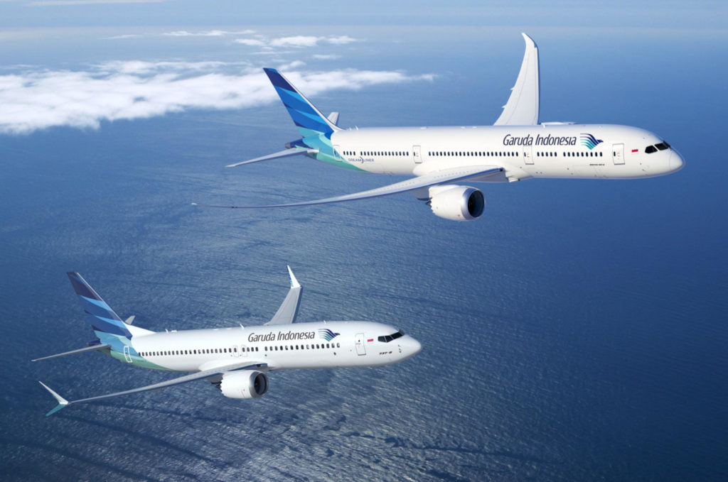 Inmarsat GX Aviation для Garuda Indonesia