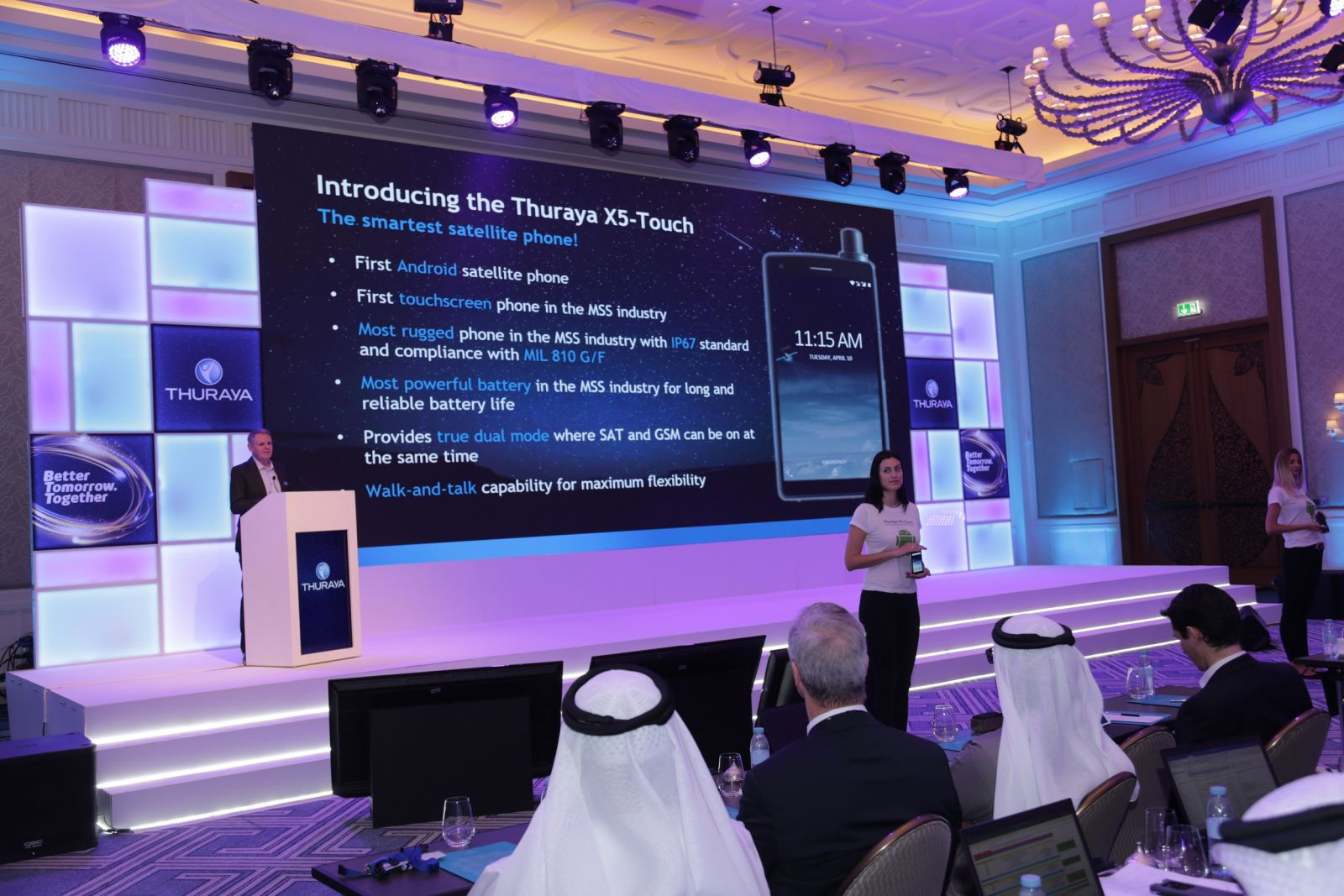 Thuraya X5-Touch_conference