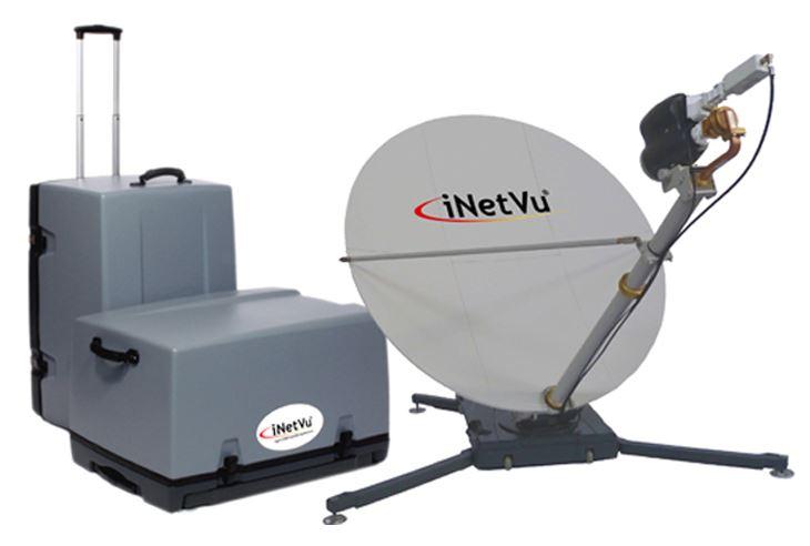 Офсетная антенна VSAT iNetVu ACFLY 1200