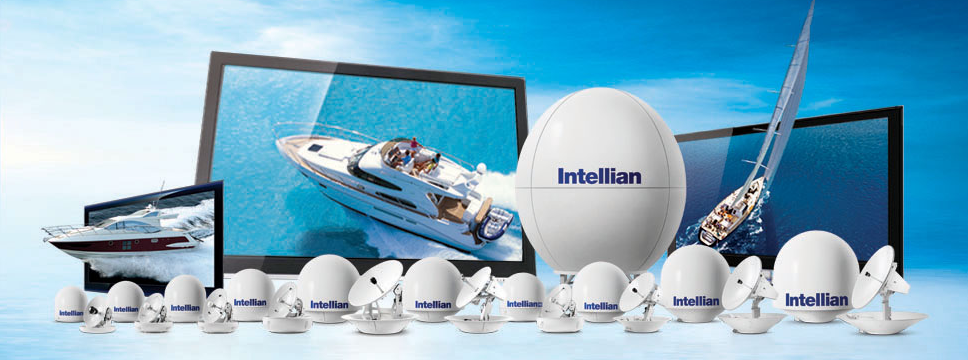 VSAT Intellian TV